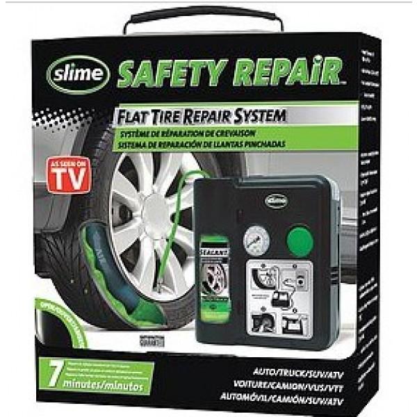 SLIME - Kit Compresor portatil 12V Infla y Repara